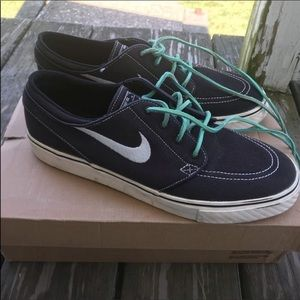 Skateboarding Nike shoes